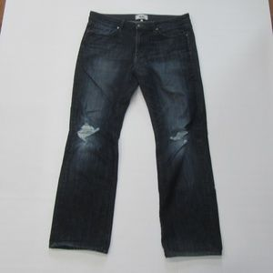Paige Men's 34 x 30 Blue Jeans Doheny Straight Leg